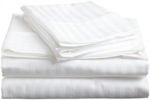 Hotel Luxury STRIPED Bed Sheets Set, #1 Bedding Set on Amazon-SALE ...