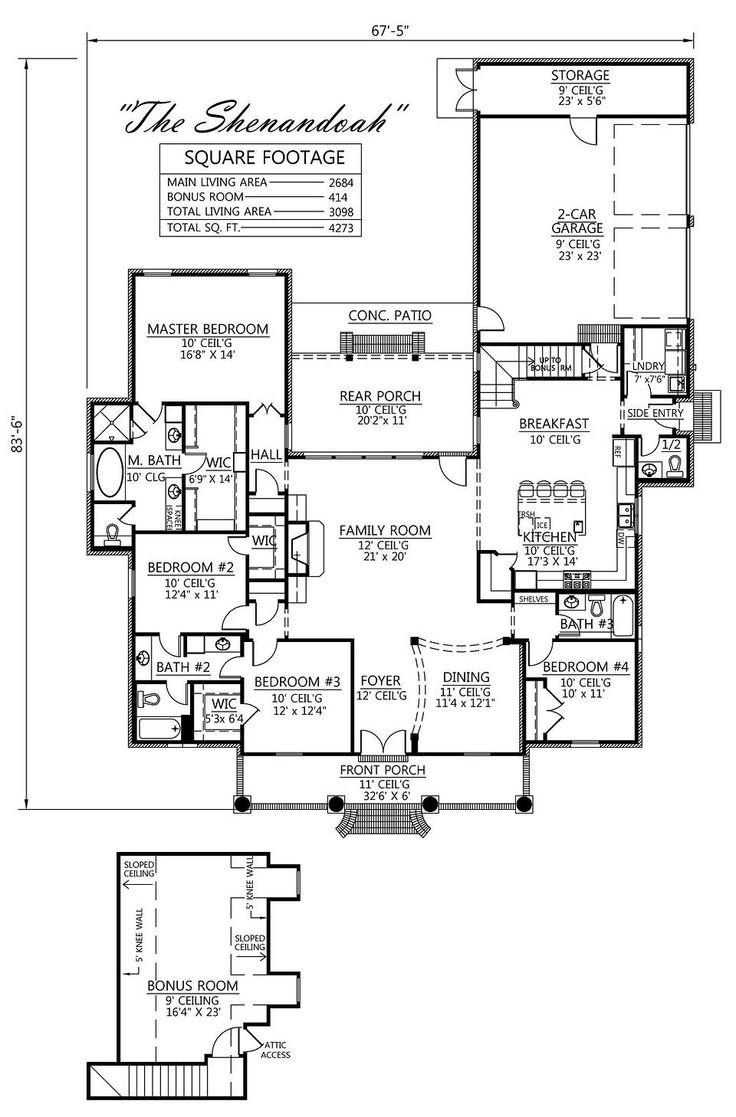Madden home design the shenandoah house plans for Madden house plans