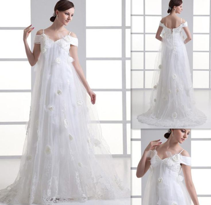 Elegant Wedding Dresses For Pregnant Brides : Best images about wedding gown on