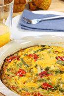 Healthy Lunch Recipes: Cheese & Bacon Frittata. #HealthyRecipes #DietRecipes #WeightlossRecipes weightloss.com.au