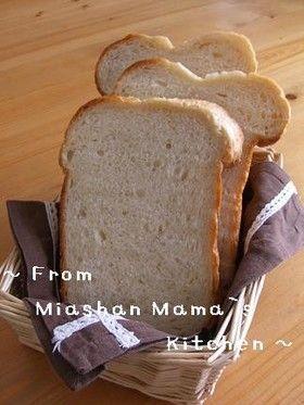 HBでふんわり&ほろあま☆メープル食パン
