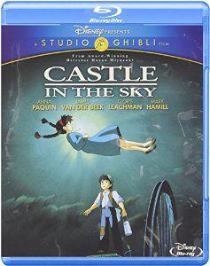 Amazon.com: Castle in the Sky (Two-Disc Blu-ray/DVD Combo): James Van Der Beek, Anna Paquin, Cloris Leachman, Mark Hamill, Mandy Patinkin, Hayao Miyazaki: Movies & TV