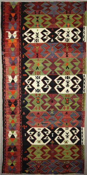R7645 Beautiful Handmade Traditional Turkish Emirdag Kilim Rug