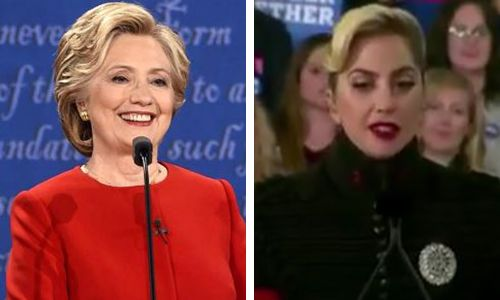 Hillary Clinton reacts to Lady Gaga not spewing Trump-hate during Super Bowl halftime