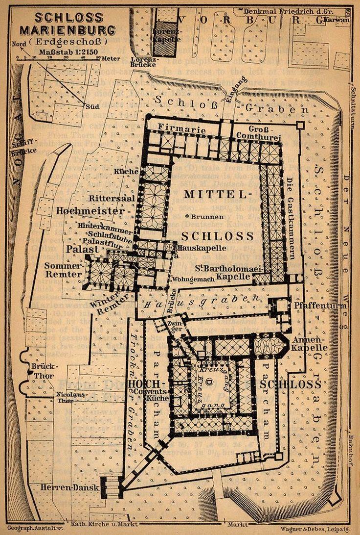 162 best castles and palaces images on pinterest architecture map of schloss marienburg 1910 building plans political leaders floor plans historic architecture house