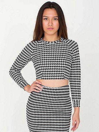 Long Sleeve Crop Raglan Sweater