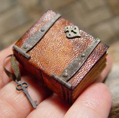 Miniature Decorated Books