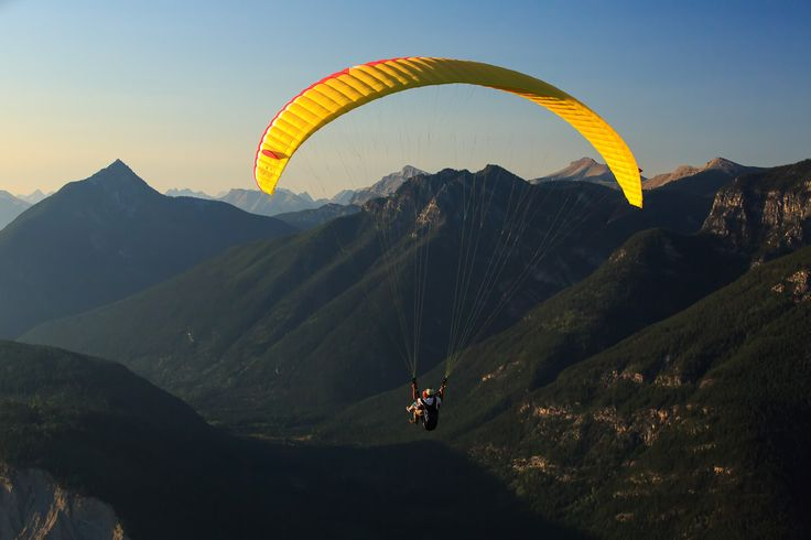 Hang-gliding in Golden, BC. British Columbia really is breathtaking.