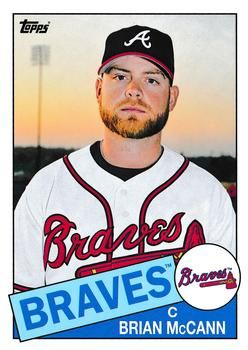 2013 Topps Archives #137 Brian McCann Front