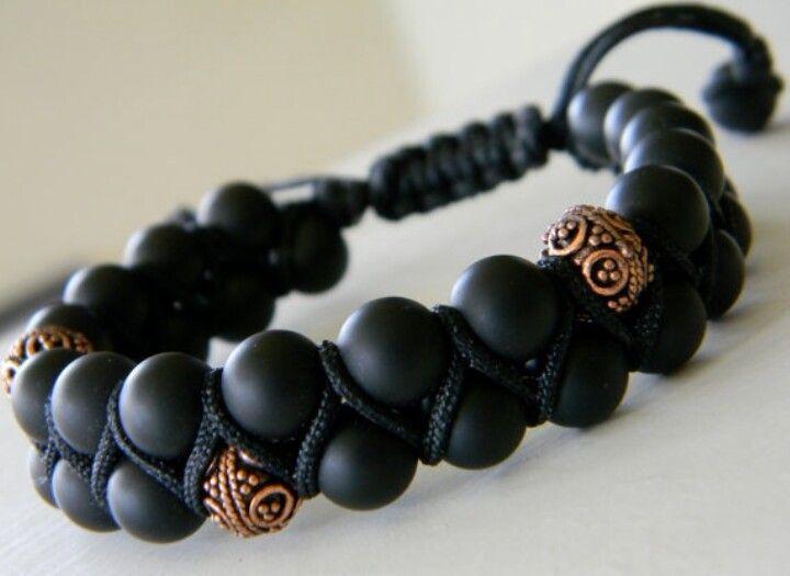 Bead & cord bracelet ❤