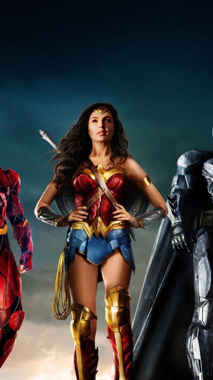 Justice League Movie Team 2017 720x1280 Wallpaper Wonder Woman Pictures Wonder Woman Artwork Gal Gadot Wonder Woman