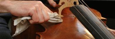 Entretient du violon