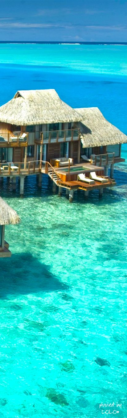 Bora Bora || Places to #getlucky curated by your friends at luckybloke.com