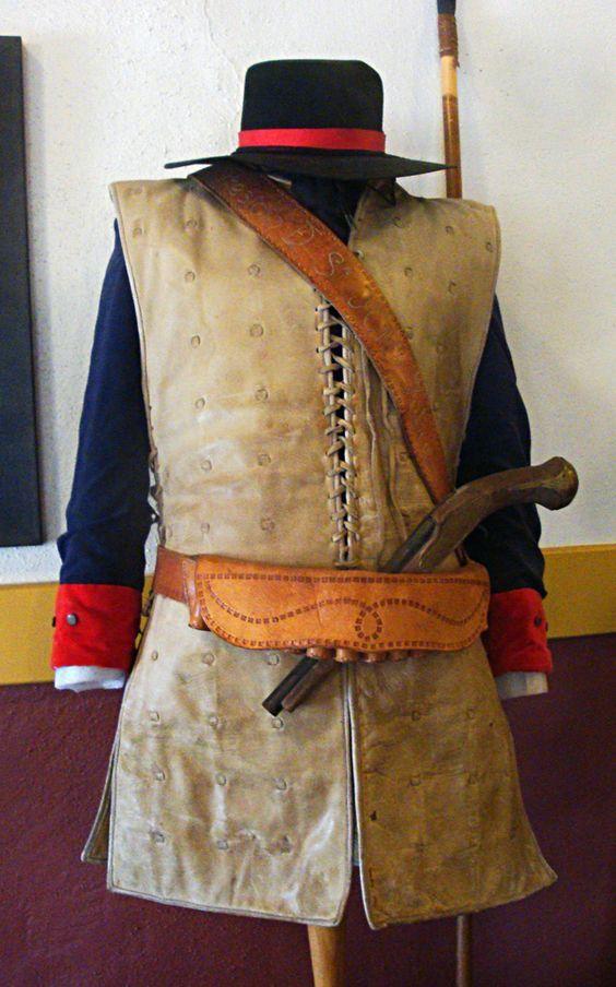 Dragones de Cuera. Leather tunic soldado