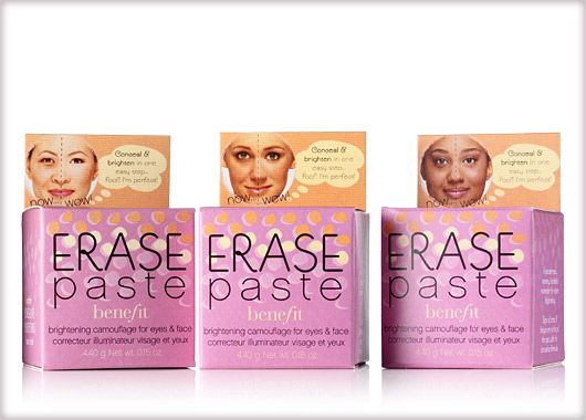 Benefit Cosmetics - erase paste #benefitgals huh must try this baby