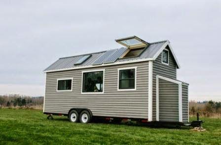 Компактные маленькие дома - роскошь на колесах