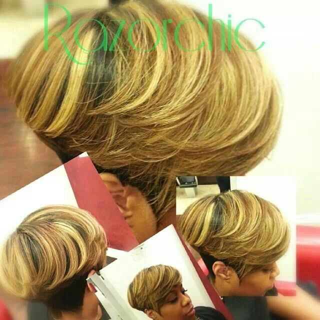 Groovy 17 Best Ideas About Razor Chic On Pinterest Ravaughn Hairstyles Short Hairstyles For Black Women Fulllsitofus