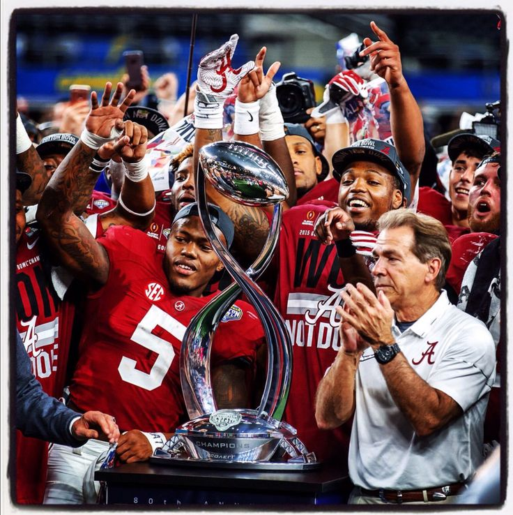 Nick Saban, Cyrus Jones and Alabama receive the Cotton Bowl trophy - on to the National Championship game vs Clemson  #Alabama #RollTide #BuiltByBama #Bama #BamaNation #CrimsonTide #RTR #Tide #RammerJammer #CottonBowl #CFBPlayoff