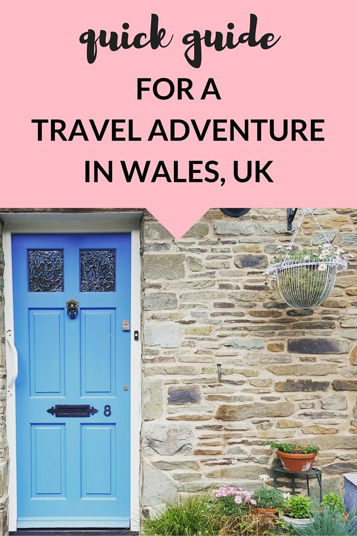 A quick #travel guide to the top destinations in Wales. What better way to explore the UK_