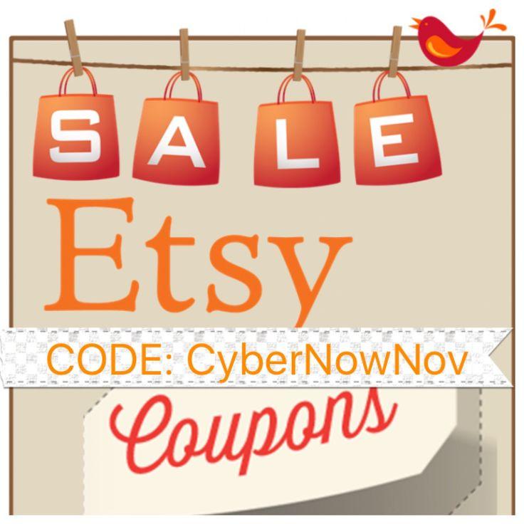 Etsy coupon code shipping