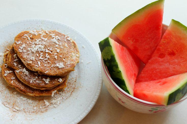 Tykke, proteinrike, sukkerfrie og deilige pannekaker. Mums! D...