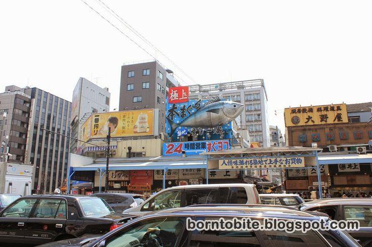 Born.To.Bite: Japan - Day 4 : Asahi Shimbun, Tokyo Stock Exchang...