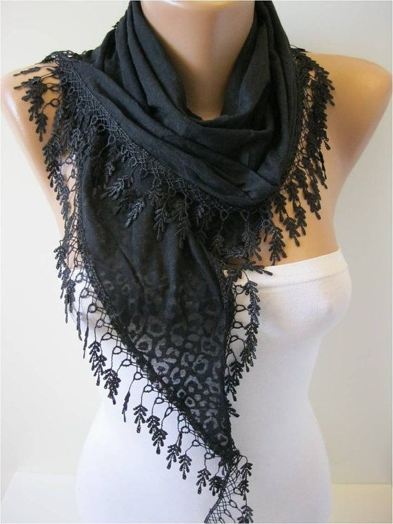 Perfect accent scarf for warmer weather!
