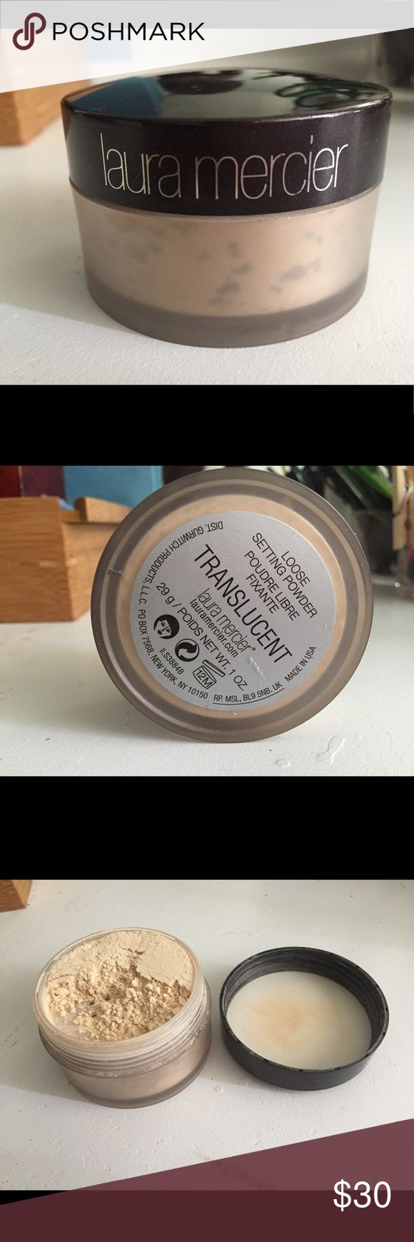 NWOT💋Laura Mercier Translucent Setting Powder NWOT Laura