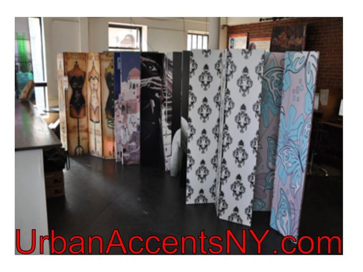 Room Divider Screens With Art And Photo Printed Images As Well As The Diy Blank Canvas