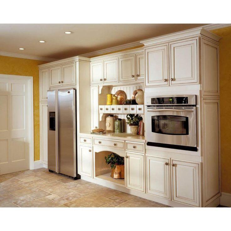 Best Kraftmaid 15X15 In Cabinet Door Sample In Castlewood 400 x 300