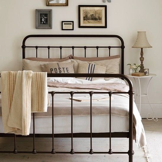The simplicity of an iron bed - AMEN