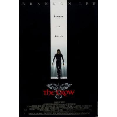 The Crow - Believe in Angels UK Style Movie Poster @ niftywarehouse.com #NiftyWarehouse #TheCrow #Crow #Movie #Film #Cult #CultMovies #CultFilms