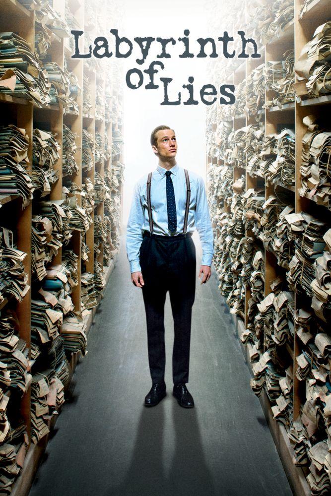 Labyrinth of Lies Movie Poster - Alexander Fehling, André Szymanski, Friederike Becht  #LabyrinthofLies, #MoviePoster, #Drama, #GiulioRicciarelli, #AlexanderFehling, #Andr, #Szymanski, #FriederikeBecht