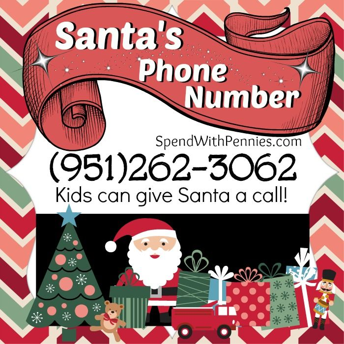 Love it?  Pin it to SAVE it! Follow Spend With Pennies on Pinterest for more great tips, ideas and  recipes! This is SO cute and any little one would be super excited to be able to give Santa a call! We called and it's great!  My little niece was...
