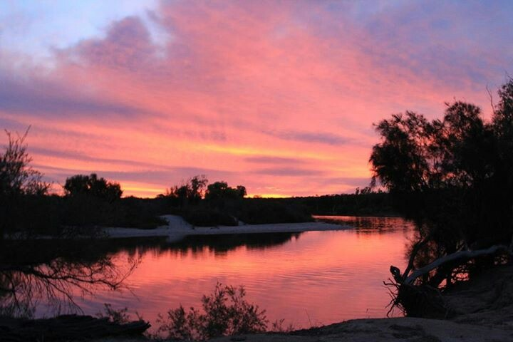 Sunset @ Murchison River Kalbarri Western Australia by Amanda Paul