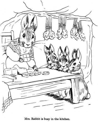 coloring pages | Coloring book art, Peter rabbit, Coloring ...