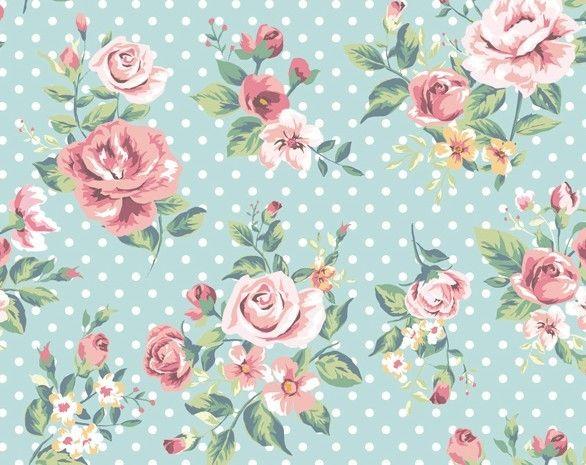 Vintage Watercolor Flowers Vector 03 - TitanUI