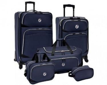 This Traveler's Choice 5 piece luggage set is perfect for all of your traveling adventures.  Available at Shoppie.