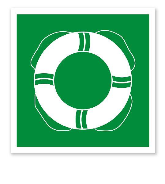 Rettungszeichen Öffentliche Rettungsausrüstung nach DIN 4844-2 #rettungsausruestung