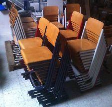 Schulstühle - Stapelstühle - Schulmöbel - 32 Stück - Gebraucht