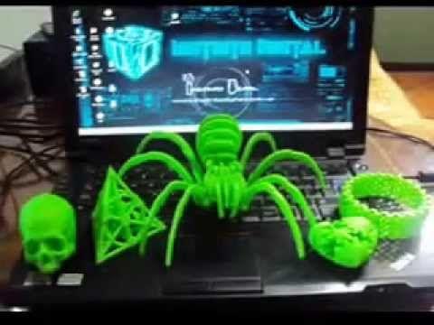 Imprimiendo Objetos en la Impresora 3D Casera