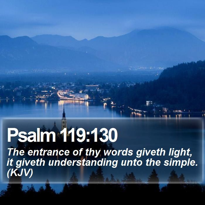 1000  ideas about psalm 119 kjv on pinterest