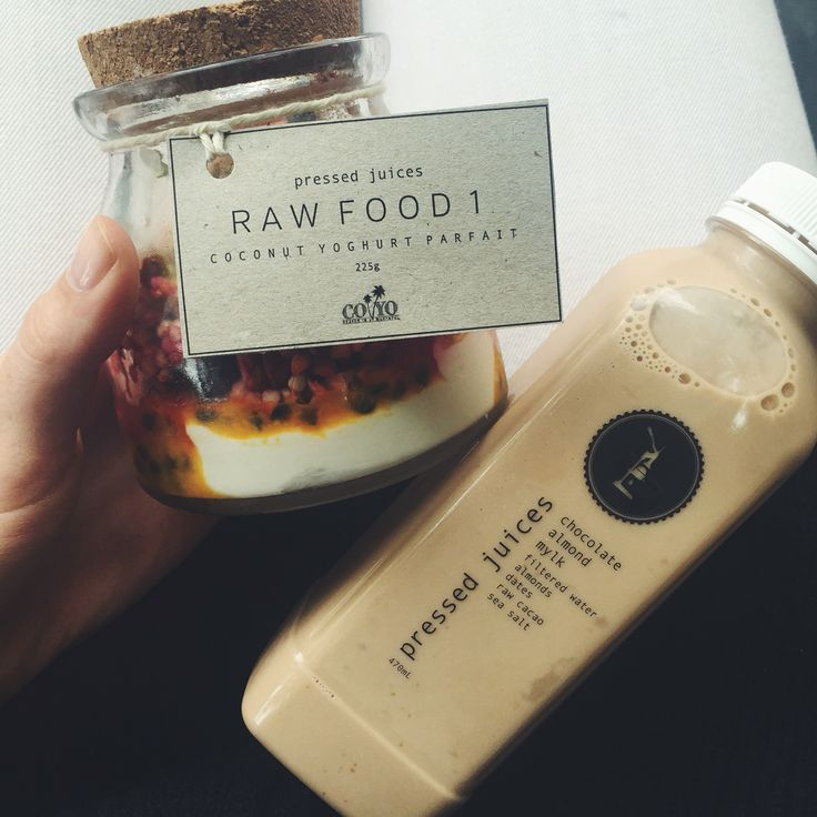 Raw food from Pressed Juices, Melbourne