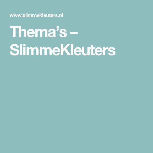 Thema's – SlimmeKleuters