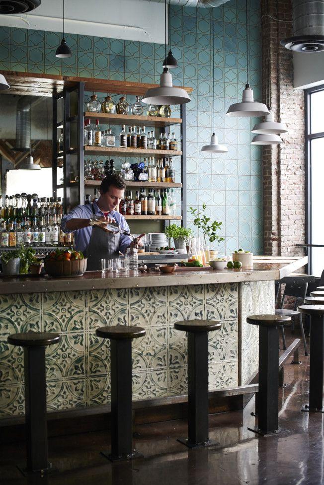 Behind the Bar at Bar Amá #DTLA