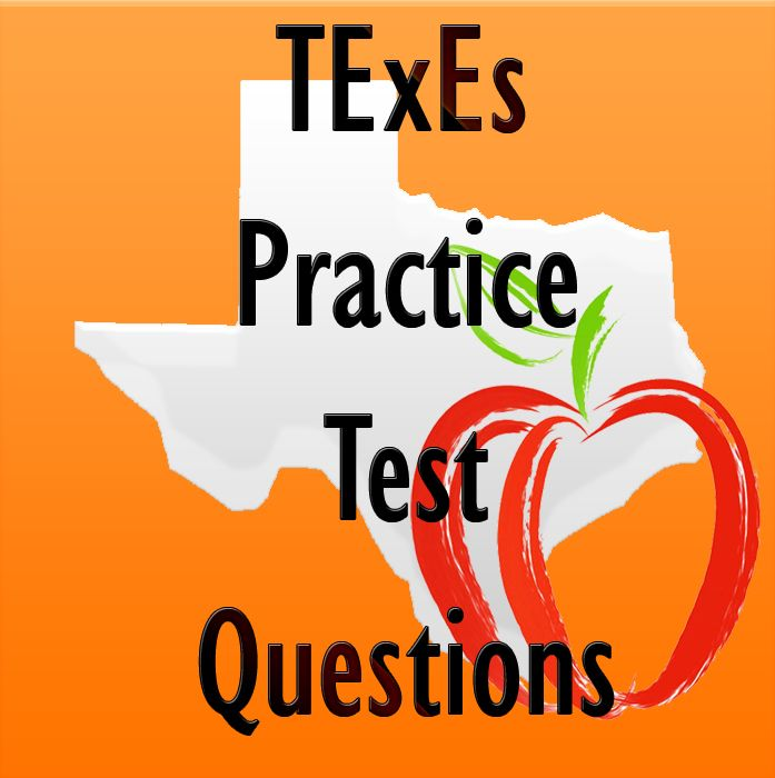 These free TExES exam practice questions will help you better prepare for the TExES exam. #texes #teaching