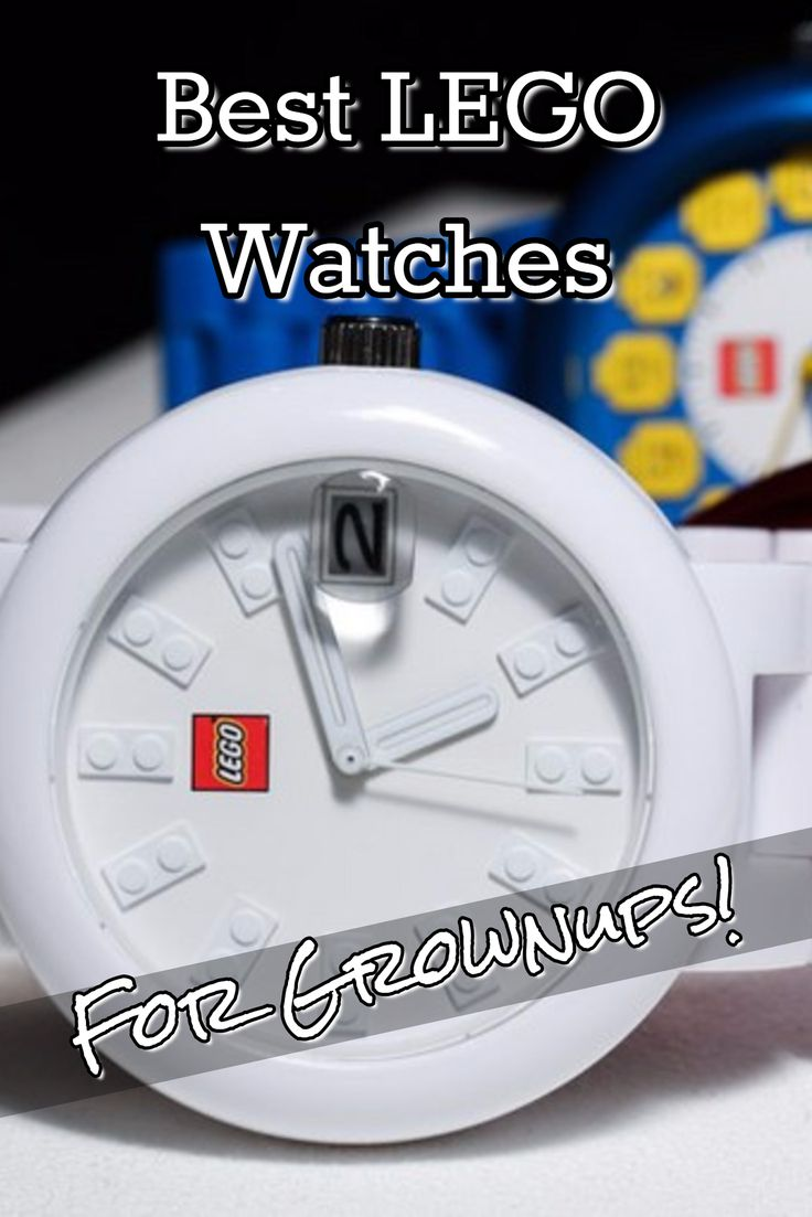 5 Best LEGO Watches for Adults - 2016-2017 Gifts for Adult LEGO Fans - great gift idea for LEGO lovers.  =)