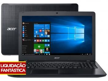 "Notebook Acer Aspire F5 Intel Core i5 6ª Geração - 8GB 1TB LED 15,6"" Windows 10"