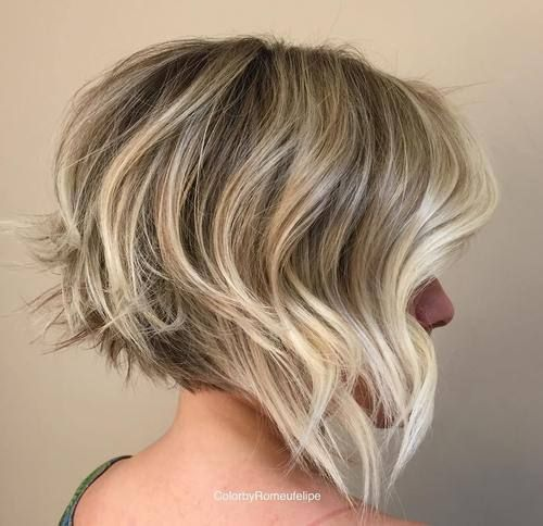 Stupendous 1000 Ideas About Layered Angled Bobs On Pinterest Bobs Angled Short Hairstyles Gunalazisus