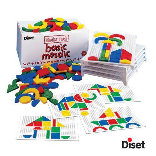 Diset - 65211 - Loisir Créatif - Basic Mosaïque Kinder Pack